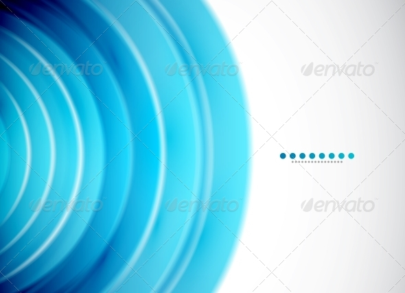 Abstract Circles - Vector Background - Backgrounds Decorative