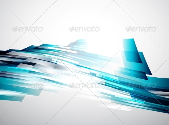 Flowing Lines Vector Background - Backgrounds Decorative