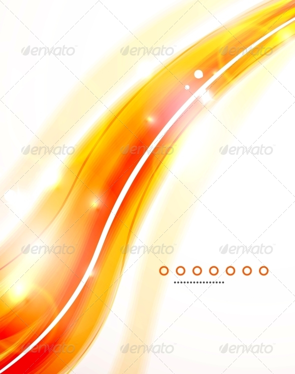 Abstract Orange Background - Backgrounds Decorative