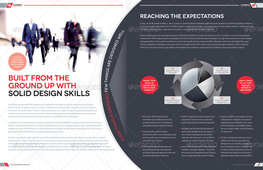 Brochure Template Indesign 8 Page Layout 02 By Boxedcreative