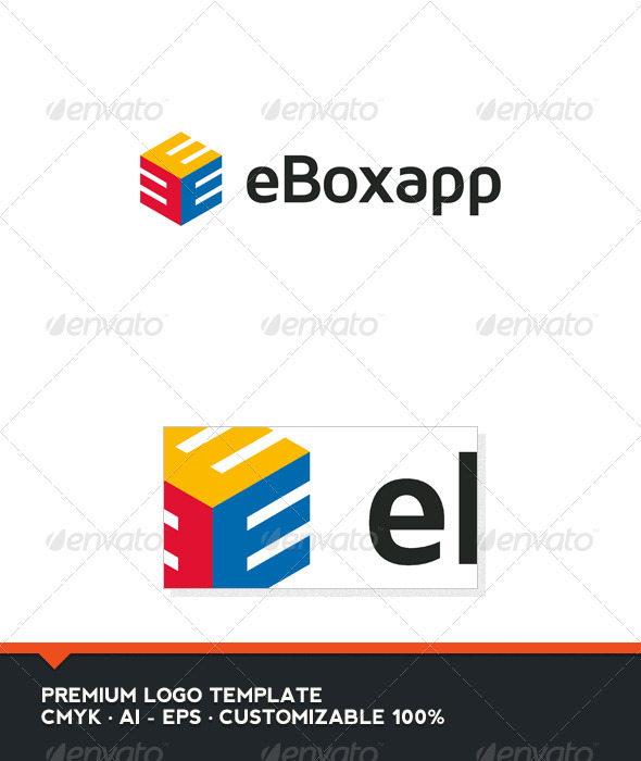 eBoxapp - Abstract and Letter E Logo Template - Abstract Logo Templates