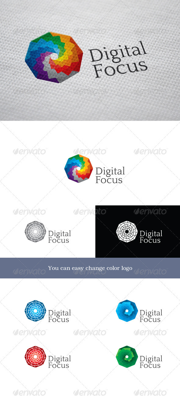DigitalFocus - Objects Logo Templates