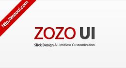 Web UI Components by Zozo UI