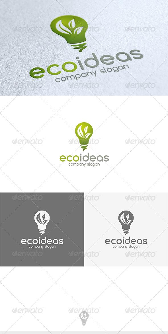 Eco Ideas Logo - Nature Logo Templates