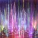 Colorful Dream Particle Streaks Rising