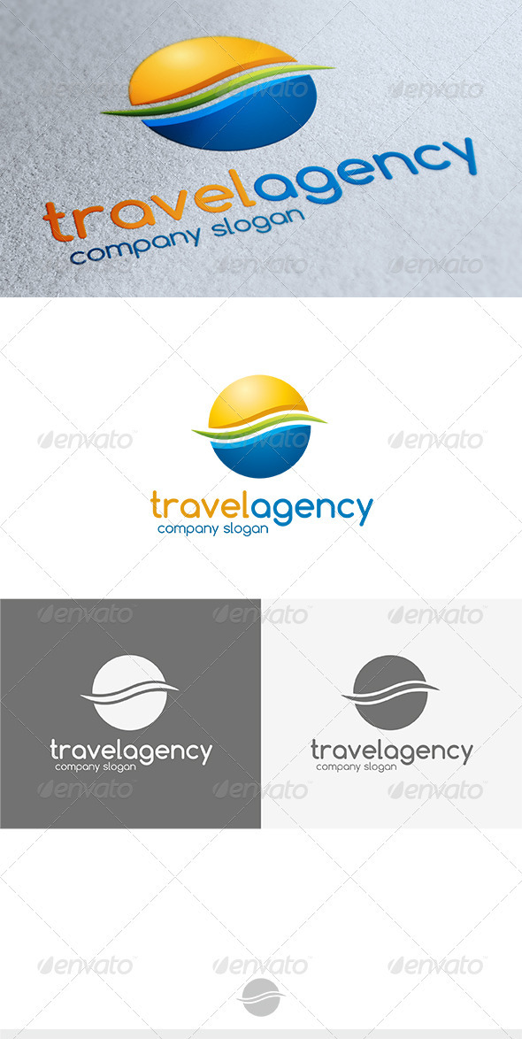 Travel Agency Logo - Vector Abstract