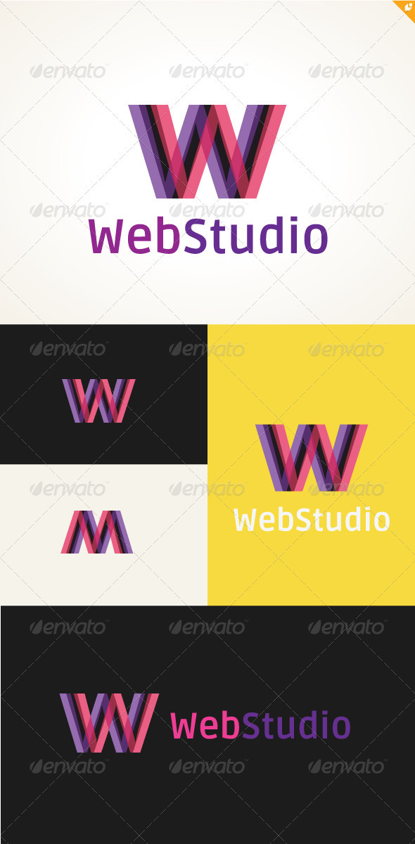 Web Studio Logo - Objects Logo Templates