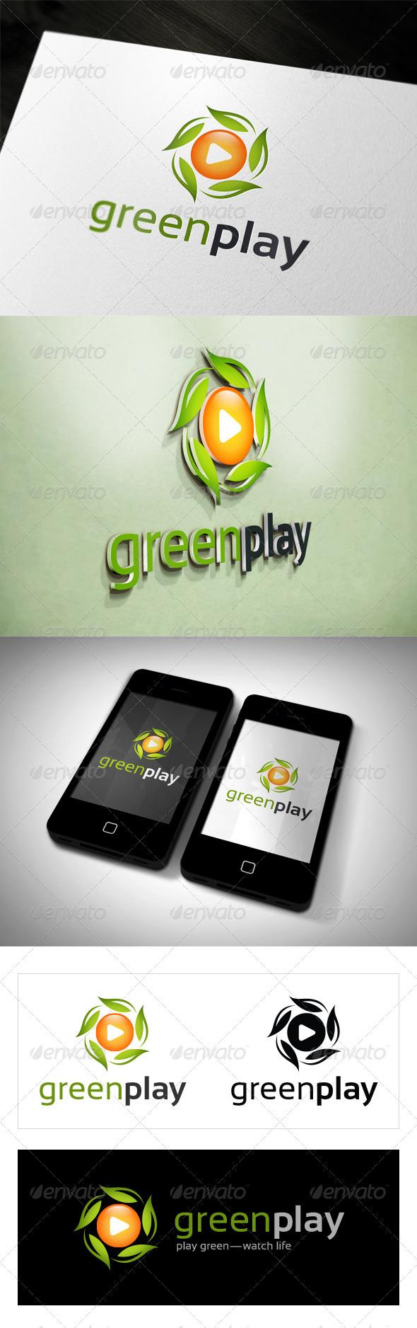Green Play - Nature Logo Templates