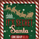 Secret Santa Flyer & Raffle Ticket - GraphicRiver Item for Sale