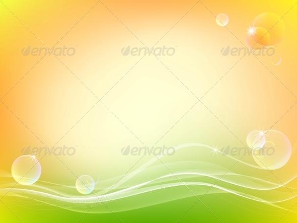 Light Transparency Bubbles Vector - Backgrounds Decorative