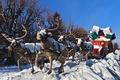 carriage with reindeer - PhotoDune Item for Sale