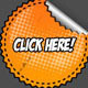 Comic Book Halftone Web Stickers Collection - GraphicRiver Item for Sale