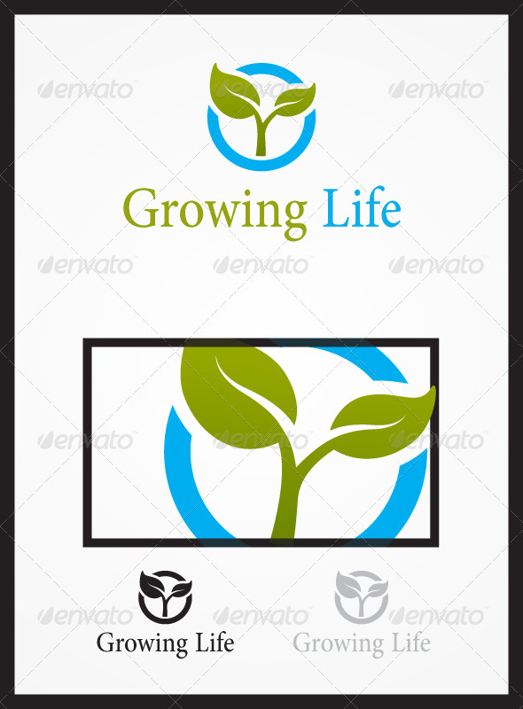 Growing Life - Nature Logo Templates