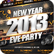 New Years Eve Party Flyer Poster Template - GraphicRiver Item for Sale