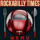 Rockabilly Times Retro Menu - GraphicRiver Item for Sale