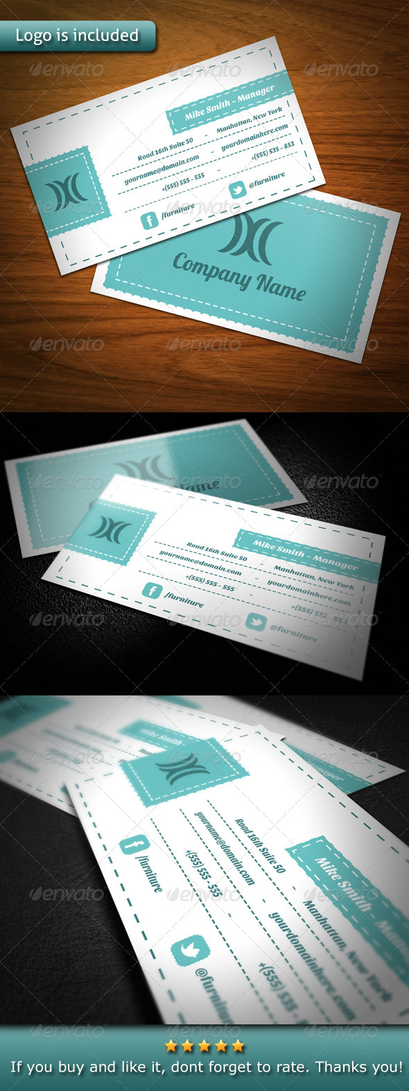 Vintage Clean Business Card - Creative Business Cards