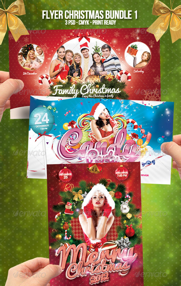 Flyer Christmas Bundle 1 - Clubs & Parties Events