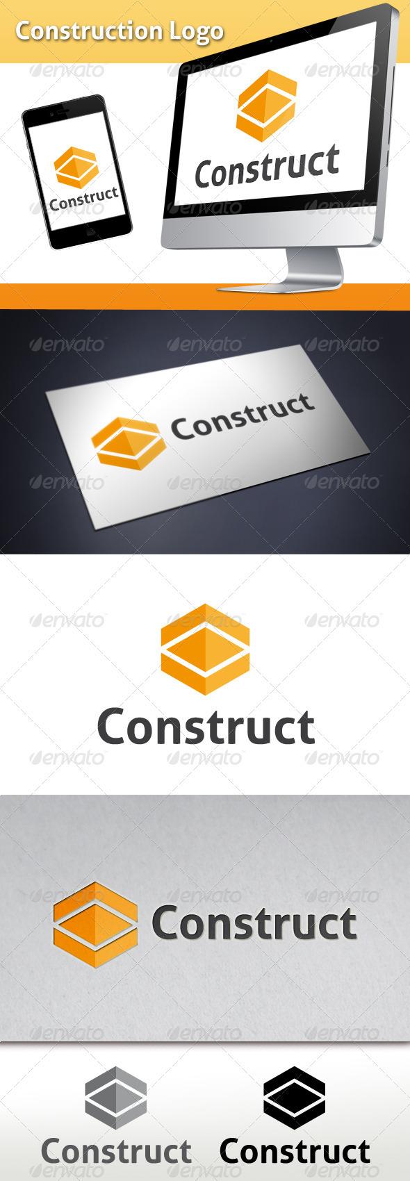 Construction Logo Template - Abstract Logo Templates