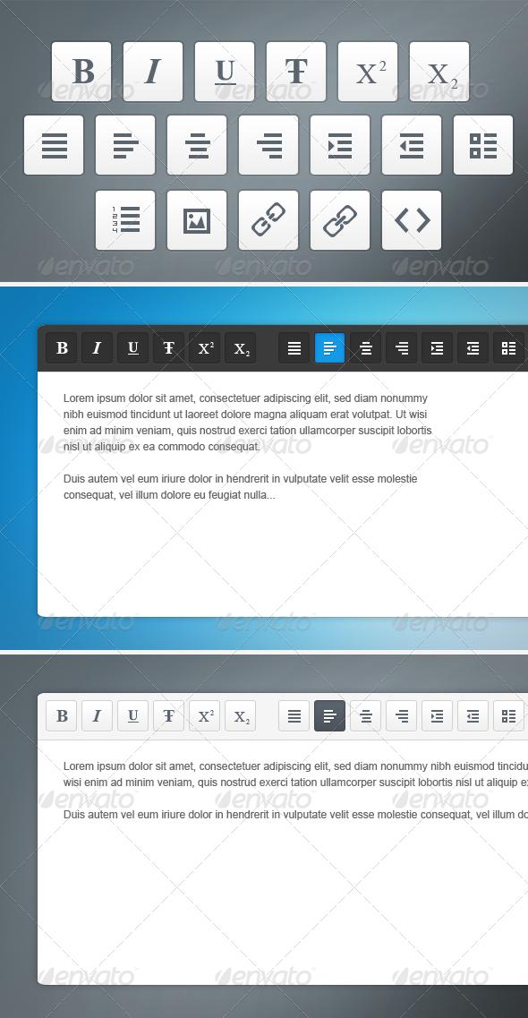 WYSIWYG Icons - Software Icons