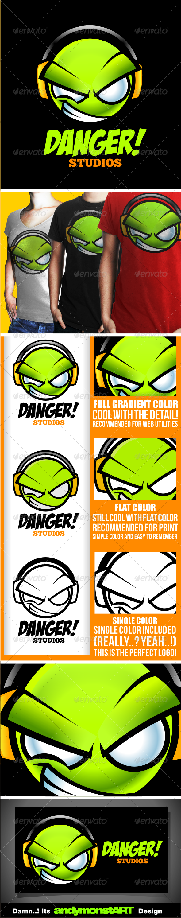 Danger Studio - Humans Logo Templates