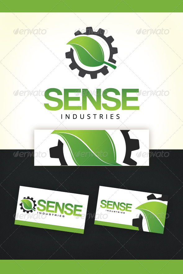 Sense Industries Logo Template - Symbols Logo Templates