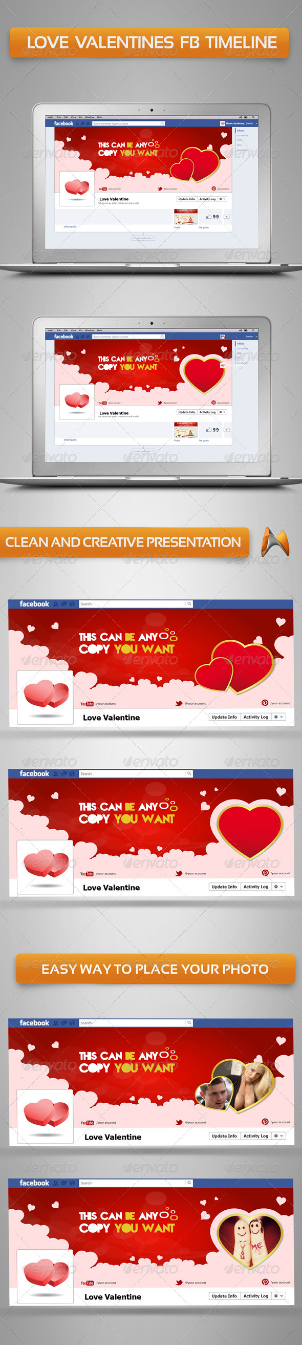 love valentine FB Timeline - Facebook Timeline Covers Social Media