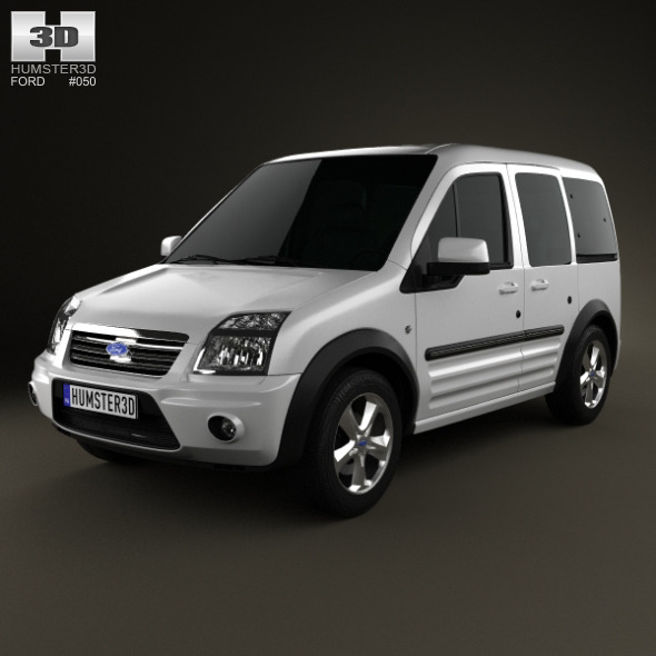 Ford Tourneo Connect LWB 2012 - 3DOcean Item for Sale