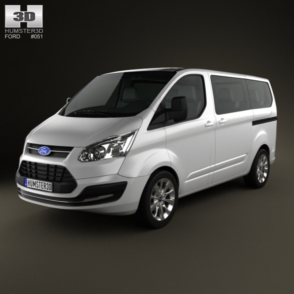 Ford Tourneo Custom SWB 2012 - 3DOcean Item for Sale