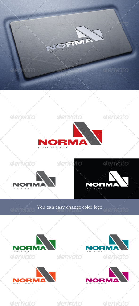 Norma Logo - Letters Logo Templates