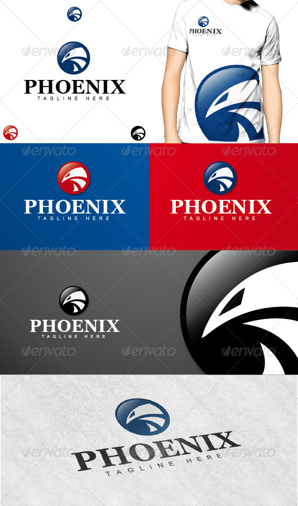 Phoenix Logo - Animals Logo Templates