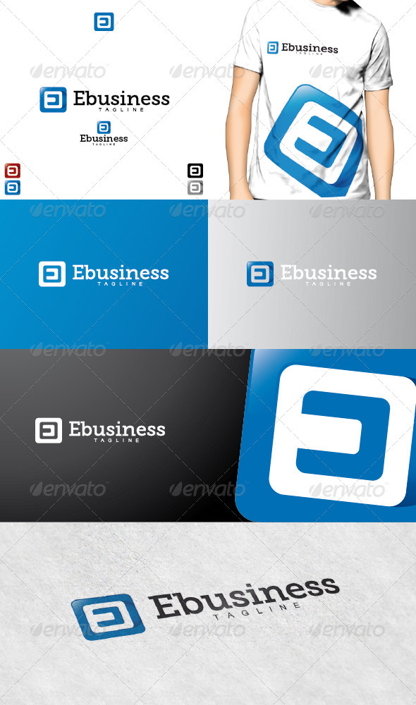 Ebusiness Logo - Letters Logo Templates