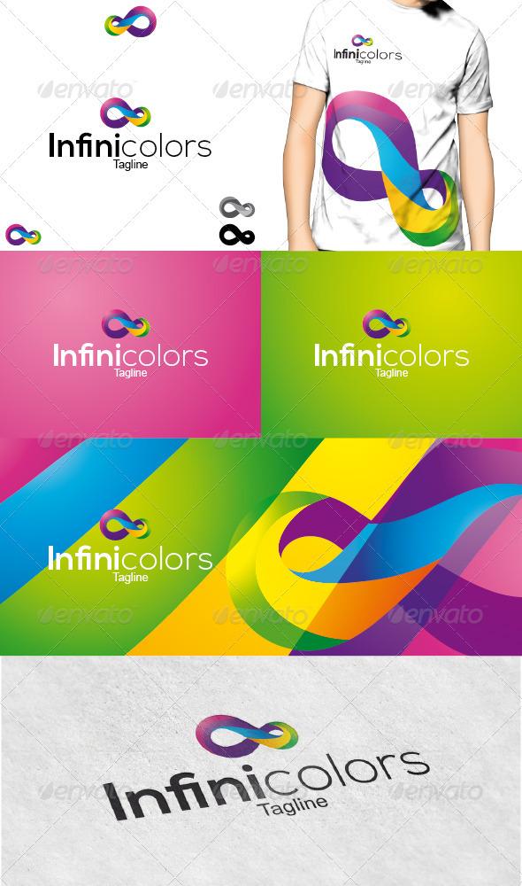 Infinicolors Logo - Symbols Logo Templates