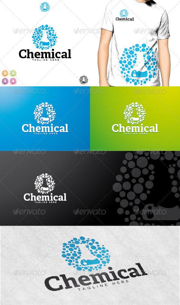 Chemical Logo - Objects Logo Templates