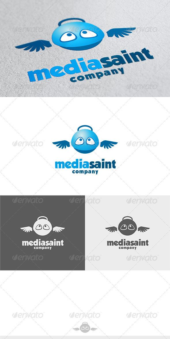 Media Saint Logo - Symbols Logo Templates