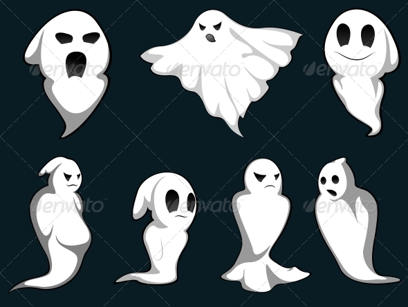 Mystery Ghosts - Halloween Seasons/Holidays
