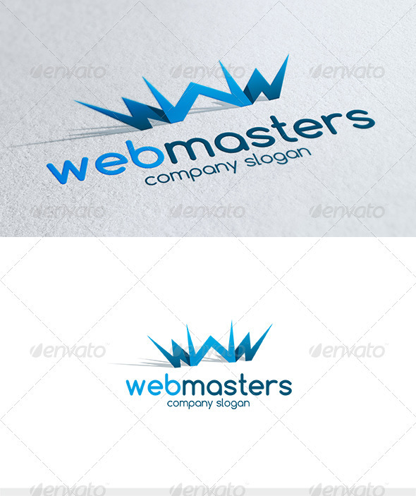 Web Masters Logo - Letters Logo Templates