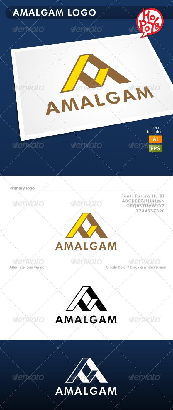 Amalgam Logo - Letters Logo Templates