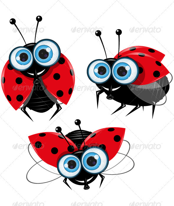 Ladybirds - Animals Characters