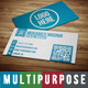 Multipurpose Business Card 1 - GraphicRiver Item for Sale