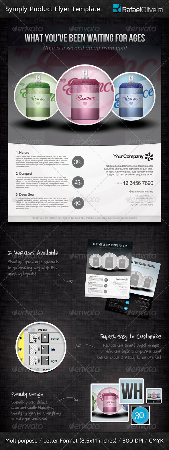 Symply Product Promotion Flyer - Commerce Flyers