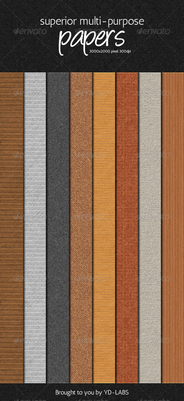 Superior Multi Purpose Papers Pack - Patterns Backgrounds