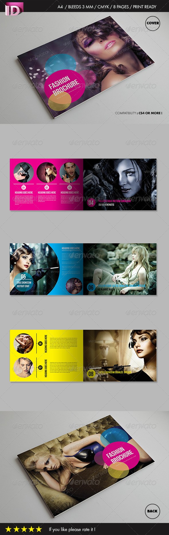 Fashion Brochure (Vol 1) - Brochures Print Templates