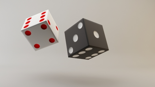 Low Poly Dice - 3DOcean Item for Sale