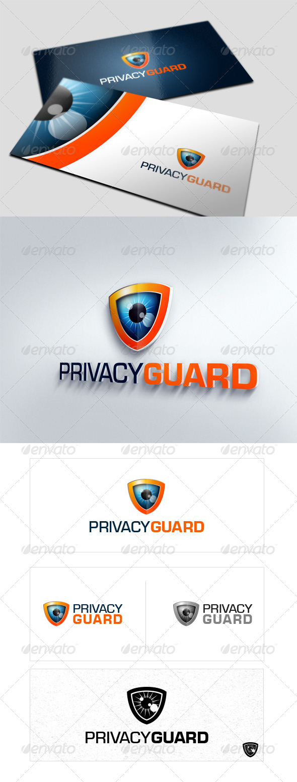 Privacy Guard - Crests Logo Templates