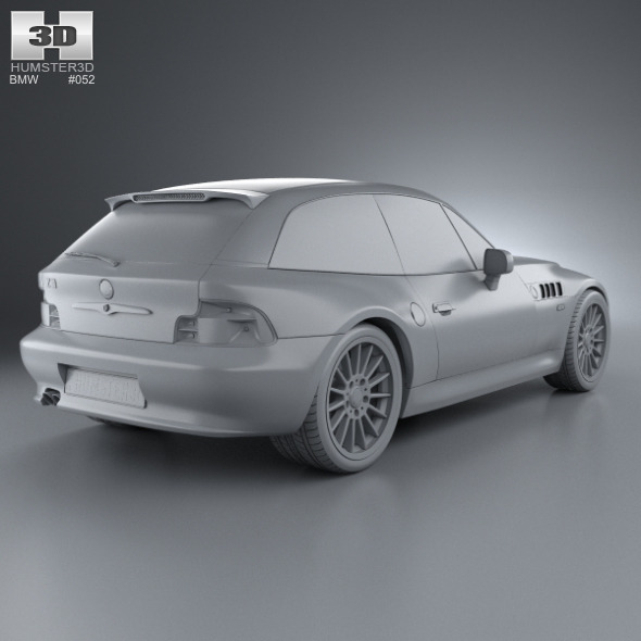 Bmw Z3 Cabriolet: BMW Z3 Coupe (E36/8) 1999 By Humster3d