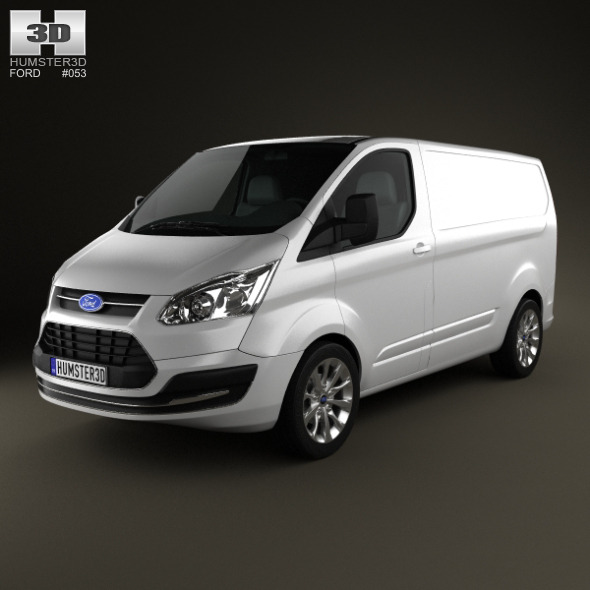 Ford Transit Custom SWB 2012 - 3DOcean Item for Sale