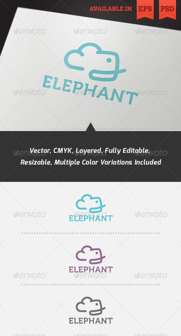 Evercloud Logo Template - Animals Logo Templates