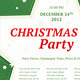 Elegant Christmas Party Flyer - GraphicRiver Item for Sale