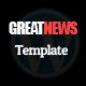 Great News Responsive Wordpress Theme Nulled