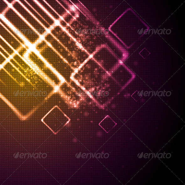 Vector Shiny Tech Background - Backgrounds Decorative